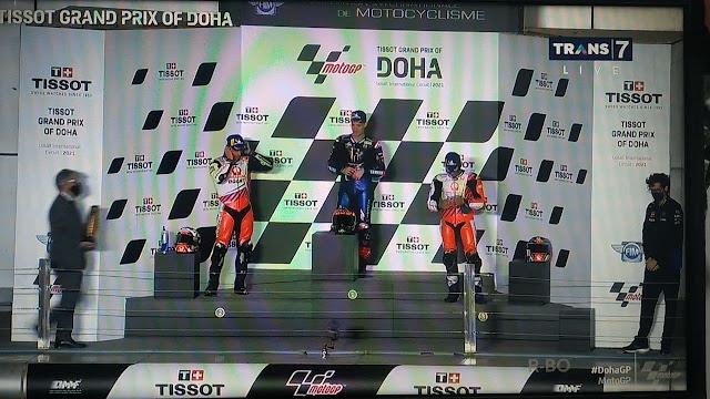 Hasil Balapan MotoGP Doha Qatar 2021 Tadi Malam