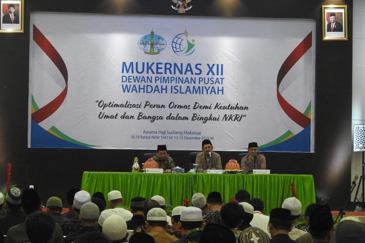 Sambangi Arena Mukernas, Senator dan Wakil Gubernur Kaltim Puji Perkembangan Wahdah Islamiyah