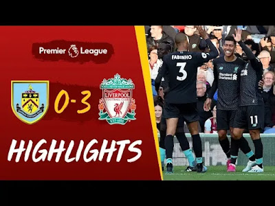 Burnley vs Liverpool 0-3 All Goals And Match Highlights [MP4 & HD VIDEO]