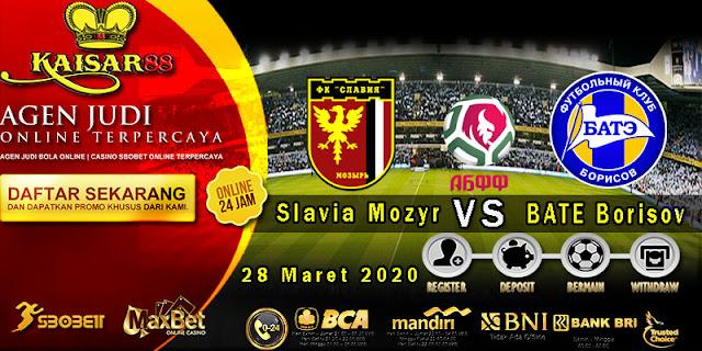 Prediksi Bola Terpercaya Liga Belarus Slavia Mozyr vs BATE Borisov 28 Maret 2020