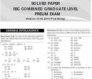 SSC CGL last 7 Year Que. Papers(Soloved)