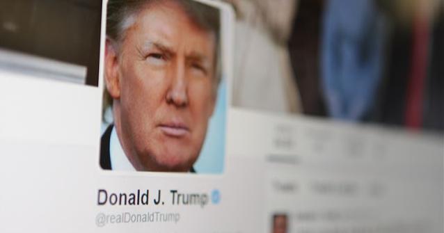 بسبب الملكية الفكرية.. منصة تويتر تحذف تغريدة نشرها الرئيس الأمريكي دونالد ترامب.