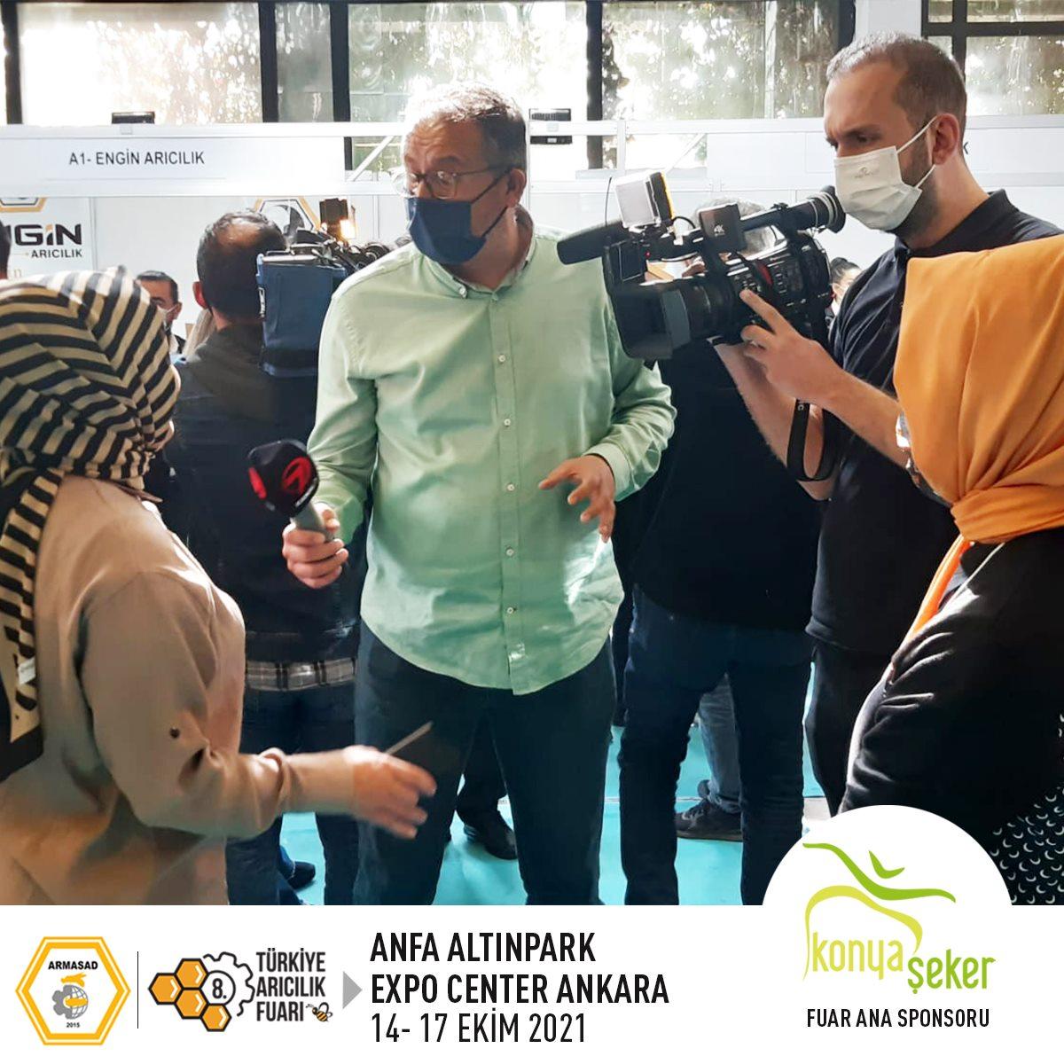 Armasad 8.Türkiye Arıcılık Fuarı 2021 ANKARA Altınpark fuar alanı, kanal 7 haber