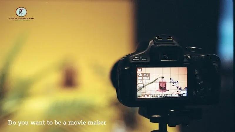 هل من طموحاتك أن تكون - صانع أفلام