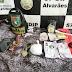 Em Alvarães, Polícia Militar em ação conjunta detém um homem por tráfico de drogas