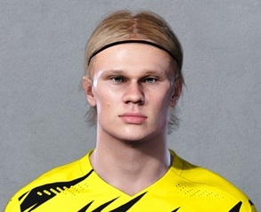PES 2021 Faces Erling Haaland by Christian Jr