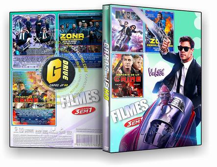 DVD COLEÇÃO FILMES 3X1 VOL.106 - ISO