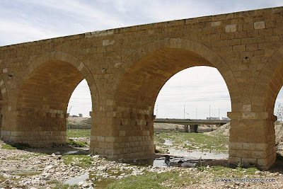 גשר הרכבת הטורקי על נחל באר שבע
