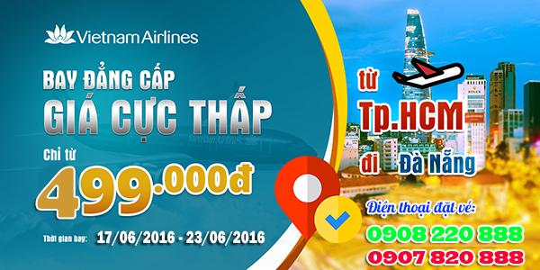 Khuyến mãi Vietnam Airlines thứ 3 hàng tuần