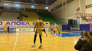 Ο ΑΠΟΕΛ πέρασε στα ημιτελικά του Κυπέλλου ΟΠΑΠ Basket League (ΑΠΟΕΛ 124-91 ΑΠΟΠ)