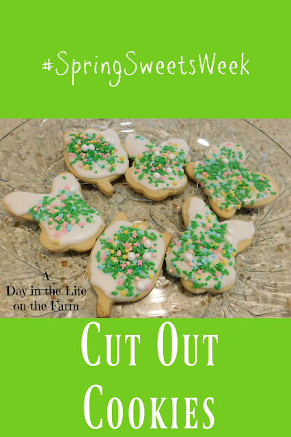 Spring Cut Out Cookies pin