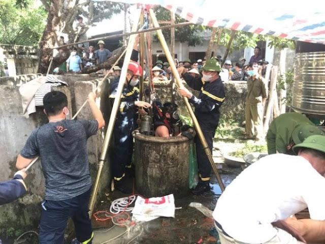 Hé lộ nguyên nhân hai bố con tử vong dưới giếng nước bỏ hoang ở Thanh Hóa