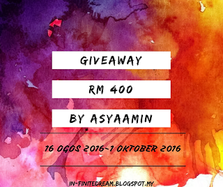 Giveaway RM400 by AsyaAmin.