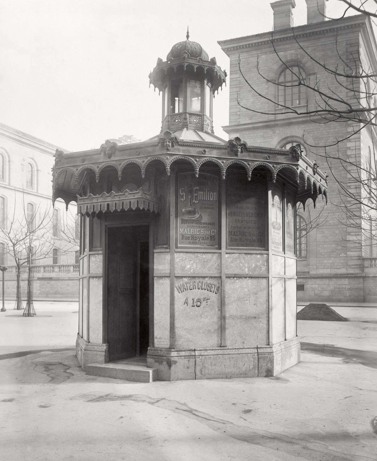 pissoir vintage public urinals paris