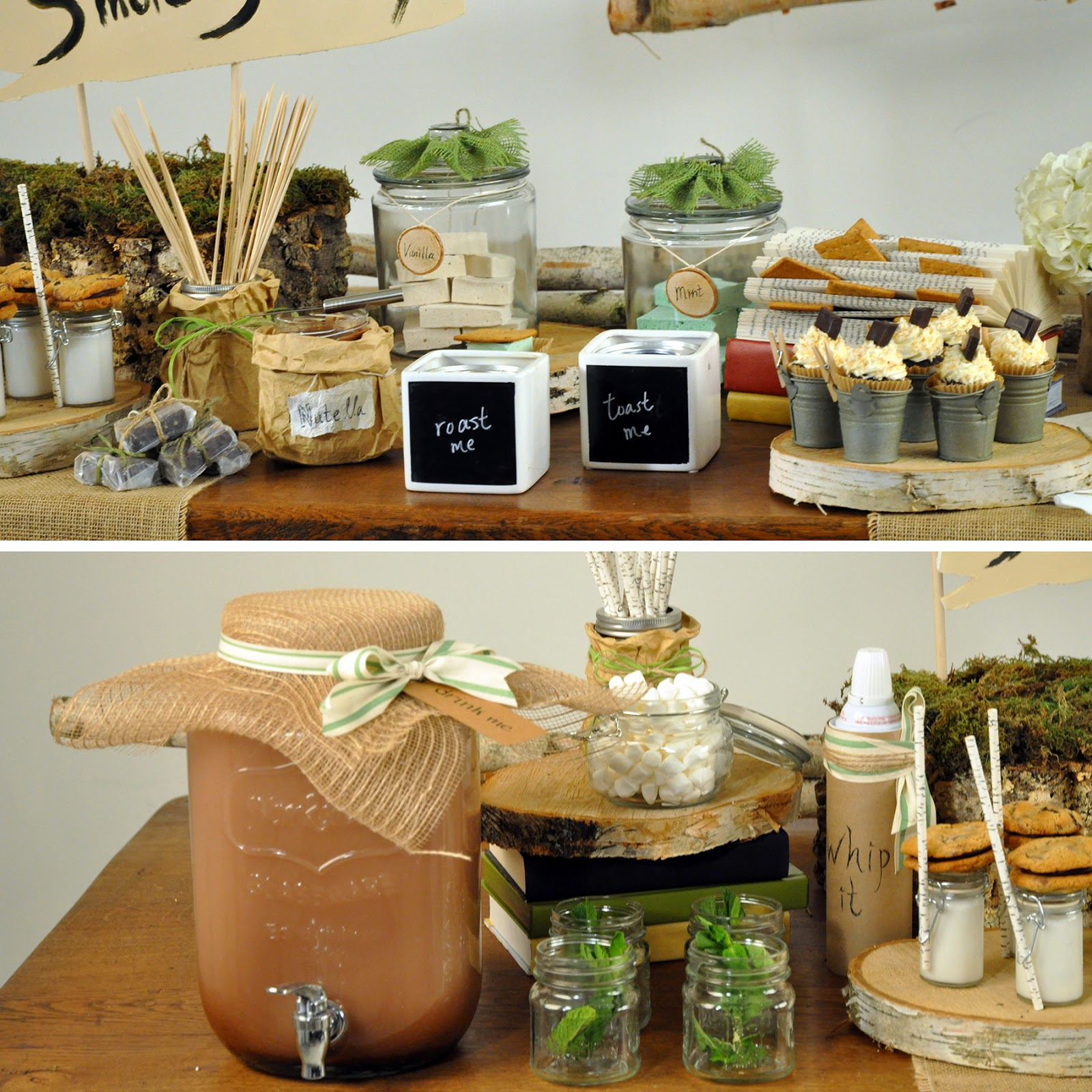 Rustic Outdoor Party ideas | Petite & Sweet | Creative Bag