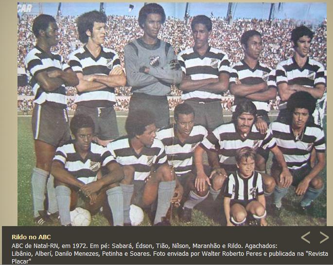 Resultado de imagem para ABC DE NATAL 1972