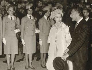 La regina Elisabetta a Torino