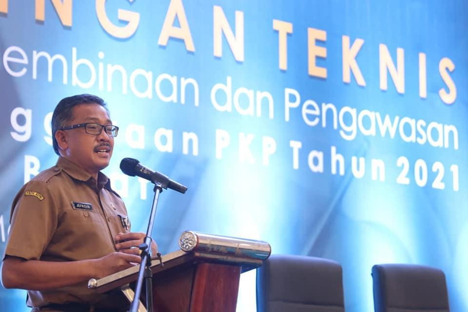 Sekda Batam Membuka Bimtek Penyelenggaraan PKP Yang Diikuti 40 Peserta dari 17 Provinsi Secara Hybrid