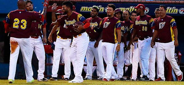 Vinotinto de mayores de béisbol  fue asignada al Grupo B del torneo Premier 12 en Taiwán.