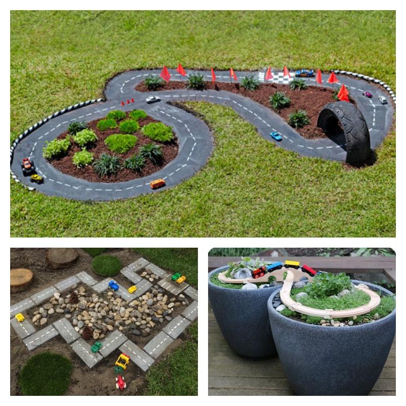 Backyard projects for kids diy race car track do it yourself backyard projects for kids diy race car track solutioingenieria Choice Image