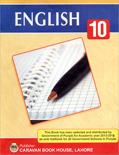 10th Class (Matriculation-II) English Textbook in Pdf Format