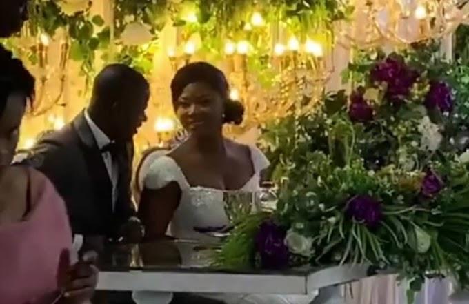 Photos from Footballer Jonathan Mensah's wedding