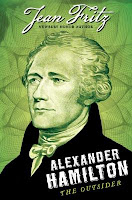Book cover, Alexander Hamilton the Outsider by Jean Fritz