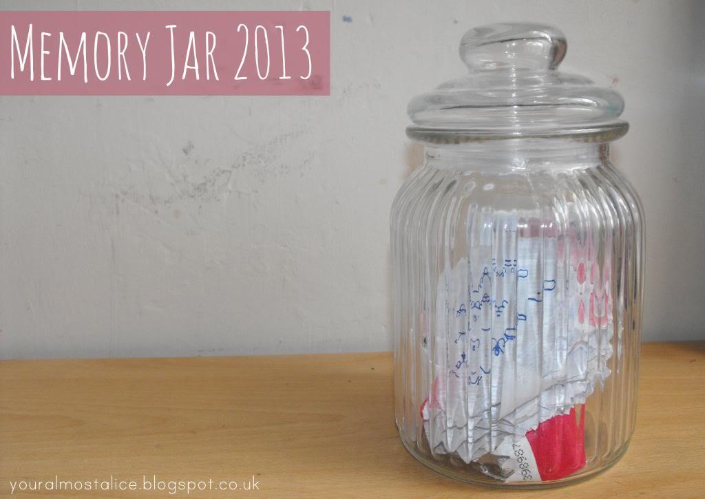 Memory Jar 2013