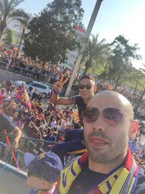 barcelona campeon liga española 2016 meascherano