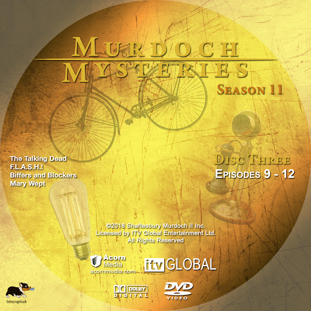 Murdoch Mysteries Season 11 DVD