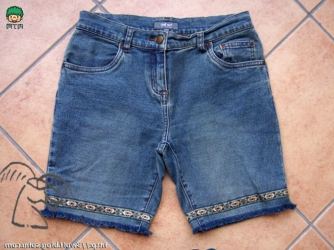 Decorate Denim Shorts!