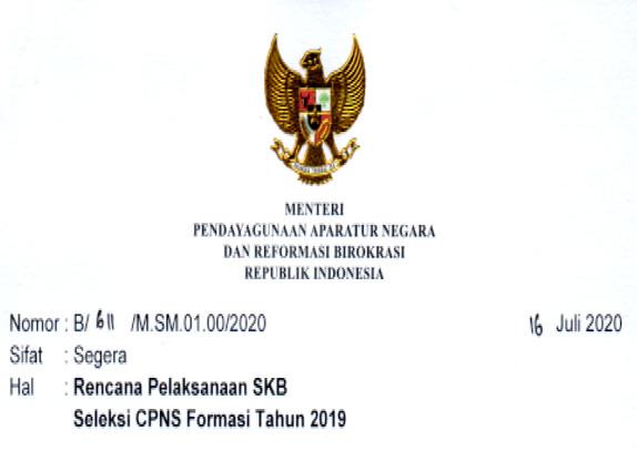 Jadwal SKB CPNS 2020 Akan Segera Dilaksanakan