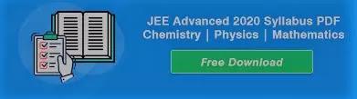 Syllabus: JEE Advanced 2020