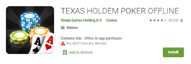 Download Gratis Game Texas Holdem Poker Offline Apk