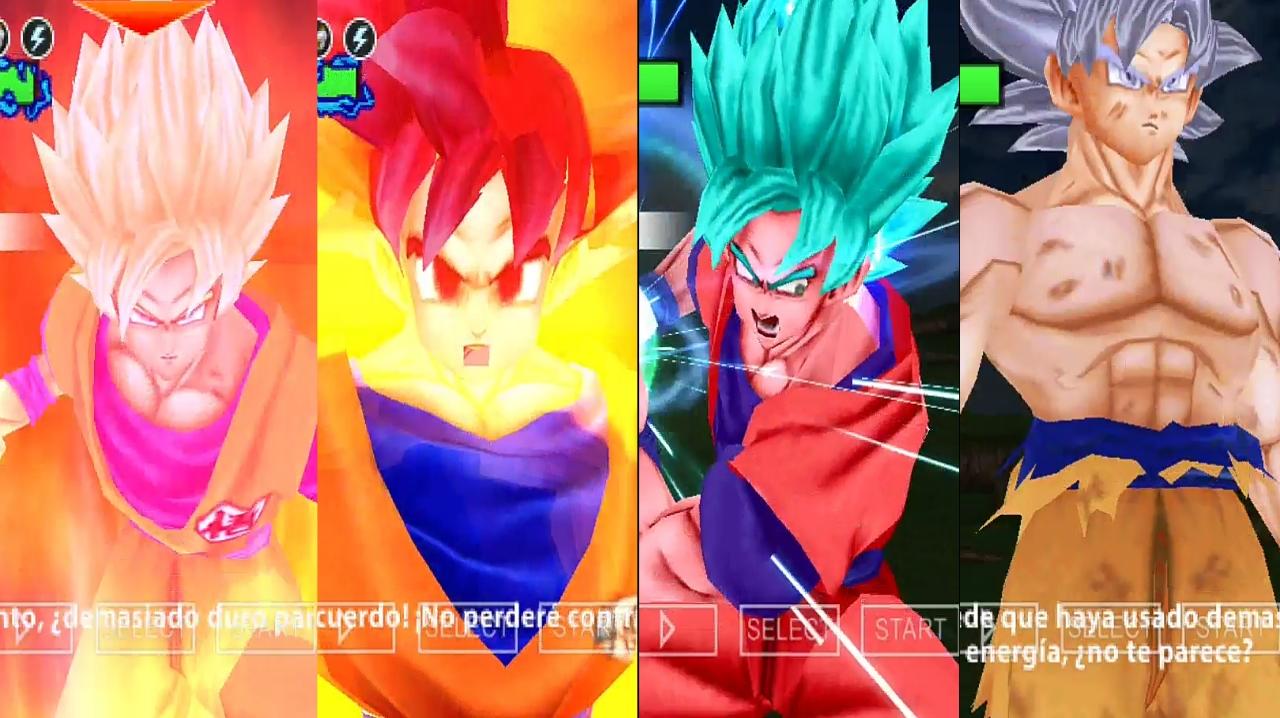 Dragon Ball Super Goku DBZ TTT MOD