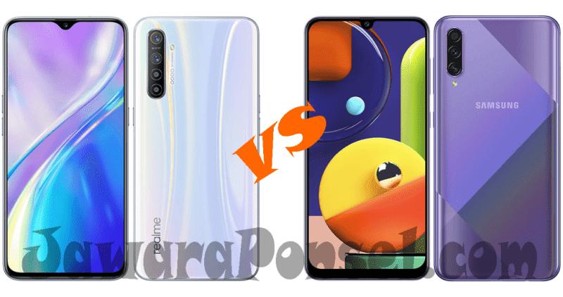 Perbandingan Realme XT vs Samsung Galaxy A50s