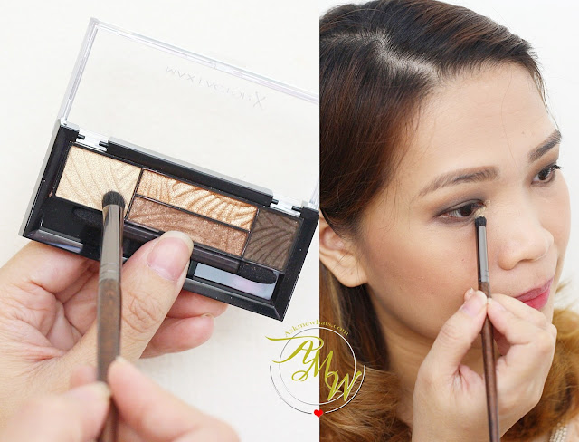 a photo on how to use Max Factor NEW Smokey Eye Drama Kits and Max Factor False Lash Effect Velvet Volume Mascara