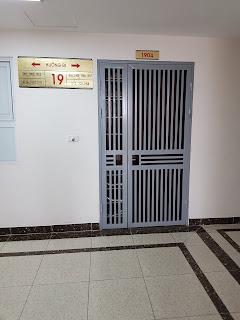 cửa sắt chung cư HMDI mỹ đình