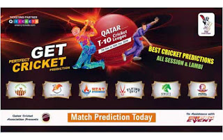Today Match Prediction Raja Babu Qatar T10 League 2019