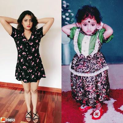 Haripriya's childhood photo