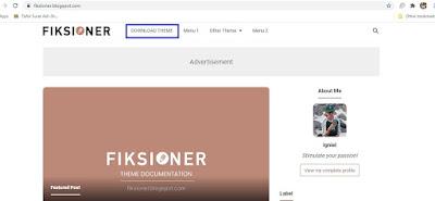 Homepage Fiksioner