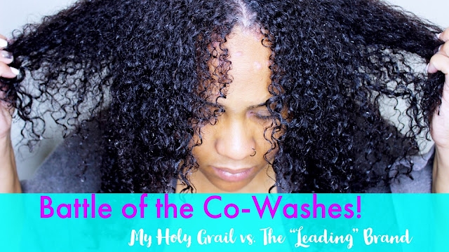 """Battle of the Co-Washes: My Holy Grail vs. The """"Popular"""" Brand"""