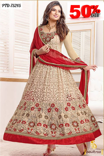Sangeeta Ghosh Designer Anarkali Dresses Online Shiopping At Low Cost