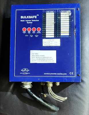 Bulksafe Water Ingress Detection System Panel Martek Marine, Bulksafe, Water Ingress Detection System, Martek Marine, BulksafeWaterIngressDetectionSystemPanelMartekMarine,