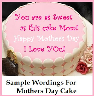 Classic Cake Wordings Mothers Day Cake