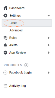 OAuth2 Facebook Top Settings