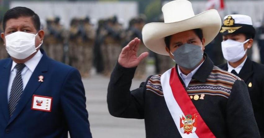 ÚLTIMO MINUTO: Presidente Castillo tomará hoy juramento a ministros de Economía y Justicia