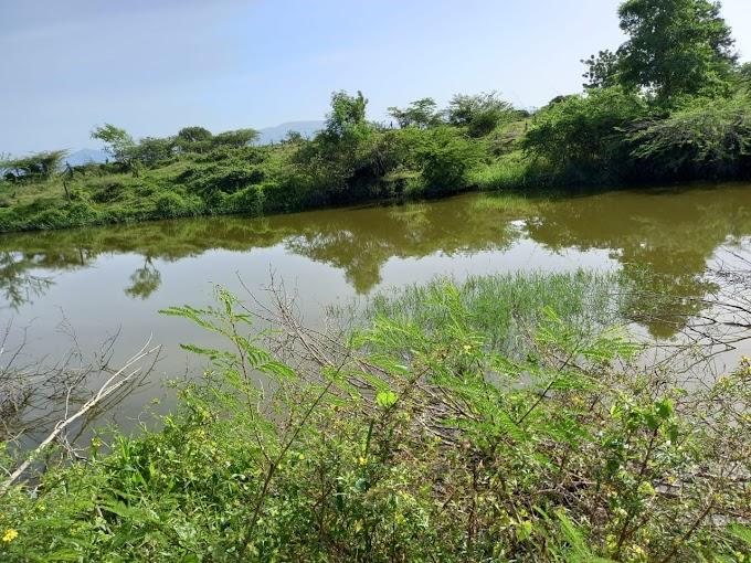 Propietario de laguna se niega a su disolución y amenaza técnicos de medio ambiente