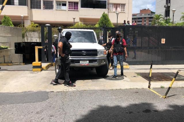 FAES DETIENE AL DIRIGENTE DE VP FREDDY GUEVARA