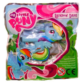My Little Pony Magazine Figure Rainbow Dash Figure by Egmont
